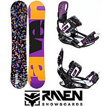 Сноуборд RAVEN GRID BLACK 150 см