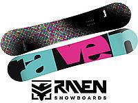 Сноуборд RAVEN PEARL BLACK/MINT 145 см, фото 1