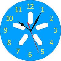 """Часы с логотипом """"Киевстар"""""""