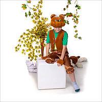 Карнавальный костюм для детей бурый Мишка