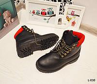 36 размер!! Ботинки женские черные зимние, женская зимняя обувь, фото 1
