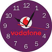 """Часы с логотипом """"Vodafone"""""""