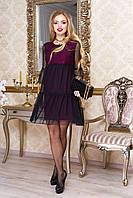 Платье Соня - слива: S М L