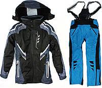 Лыжный костюм BLUE-BLACK, фото 1