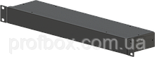 Корпус металевий Rack 1U, модель MB-1100SP (Ш483(432) Г102 В44) чорний, RAL9005(Black textured)