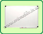 Доска школьная под маркер магнитная белая 0710 Фк 750х1000