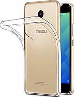 Чехол силиконовый Ультратонкий Epik для Meizu M5S Прозрачный