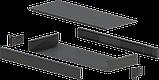 Корпус металевий Rack 1U, модель MB-1160SP (Ш483(432) Г162 В44) чорний, RAL9005(Black textured), фото 2