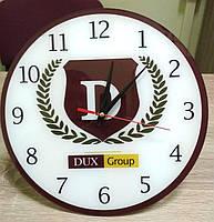 """Часы с логотипом """"DUX Group"""""""