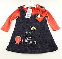 Детские платья 3-6 месяца Турция
