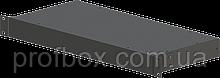 Корпус металевий Rack 1U, модель MB-1200SP (Ш483(432) Г202 В44) чорний, RAL9005(Black textured)