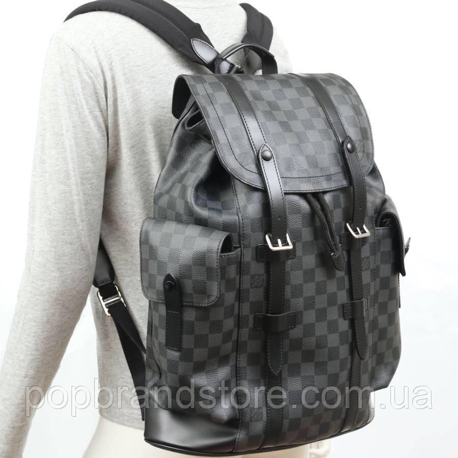 Крутой мужской рюкзак Louis Vuitton CHRISTOPHER PM (реплика) - Pop Brand  Store   5ca5f49aab8