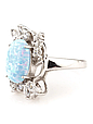 Кольцо серебряное с опалом, фото 2