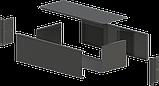 Корпус металевий Rack 3U, модель MB-3160SP (Ш483(432) Г162 В132) чорний, RAL9005(Black textured), фото 2