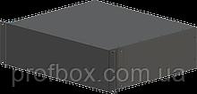 Корпус металевий Rack 3U, модель MB-3370SP (Ш483(432) Г372 В132) чорний, RAL9005(Black textured)