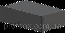 Корпус металевий Rack 3U, модель MB-3260SP (Ш483(432) Г262 В132) чорний, RAL9005(Black textured)