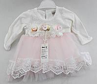 Нарядное платье для девочки 6, 12 месяцев Турция
