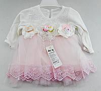 Детские платья 3, 6, 12 месяца Турция