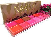 Палитра помадок для губ Naked3