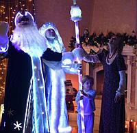 Новогодний костюм с Холодного неона.