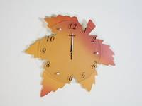 Настенные часы Кленовый лист
