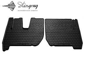 IVECO Stralis 2007-2012 Комплект из 2-х ковриков Черный в салон. Доставка по всей Украине. Оплата при получени
