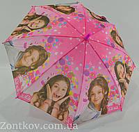 """Детский зонт для школьниц на 6-12 лет от фирмы """"Feeling Rain"""""""