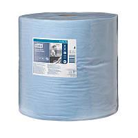 Tork протирочная бумага 440 голубая большой рул. 2сл., 340м., 1000листов