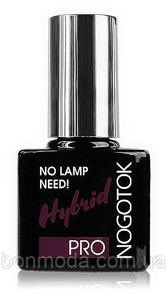 Стойкий лак для ногтей Nogotok Pro Hybrid No Lamp Need № 28