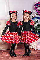 Детский  костюм Минни Маус для девочки 3-4 года