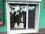 Новогодняя виниловая наклейка - Новогодняя сказка на окно 117х50 см х 3 шт, фото 4