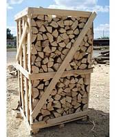 Колотые дубовые дрова