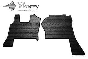 SCANIA R 2009-2013 Комплект из 2-х ковриков Черный в салон