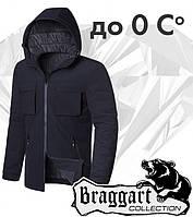 Braggart 'Black Diamond'. Куртка демисезонная 4752 черная