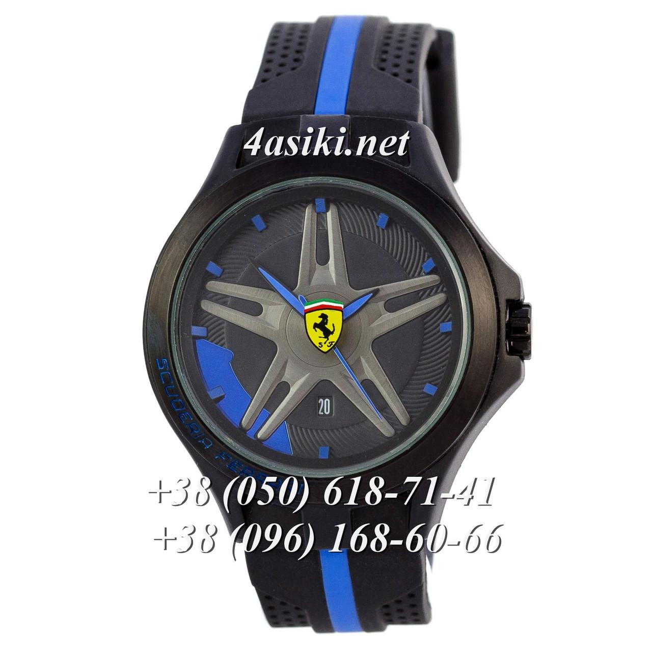 Наручные часы Ferrari Scuderia Sport Black-Black-Blue реплика