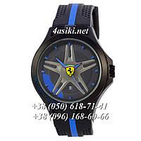Наручные часы Ferrari Scuderia Sport Black-Black-Blue реплика, фото 1