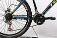 """Горный велосипед TOTEM MTB HD 26""""  Черный/Синий, фото 5"""