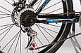 """Горный велосипед TOTEM MTB HD 26""""  Черный/Синий, фото 6"""