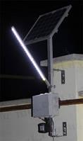 Пример системы освещения двора в частном доме №2