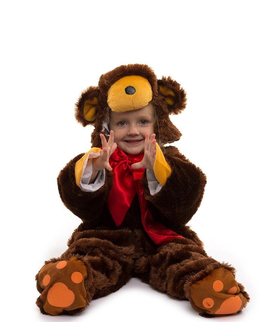 Меховой карнавальный костюм медведя детский. Для малышей. - Интернет-магазин