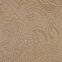 Готовые рулонные шторы 375*1500 Ткань Арабеска 1839 Какао