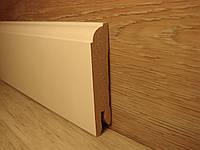 Плинтус для пола МДФ Белый 14.2х70х2400мм
