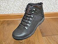 Зимние мужские кожаные ботинки DETTA, фото 1