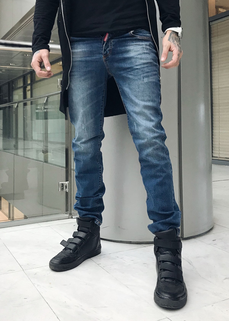 джинсы Dsquared осенние стильные мужские джинсы цена 699 грн