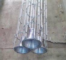 Поддерживающий каркас для фильтрационного рукава - сталь оцинкованная