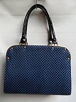 Женские лаковые сумки(L&L)AL922 синий