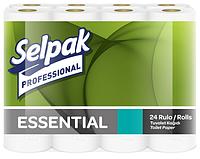 Selpak Pro. Essential Папір туалетний целюлозний 2-х шар. 22,3м 24шт (3шт/ящ)
