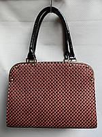 Женские лаковые сумки(L&L)AL922 хаки
