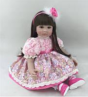 Кукла Присцилла, реборн, 55см, мягконабивная, в подарочной упаковке