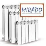 Биметаллический радиатор МИРАДО\DIVA 95х500 (Одесса)